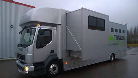 Volvo FLL Hästlastbil Servicebil Husbil