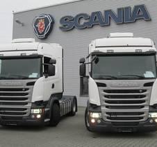 Nyleverans av lastbilar